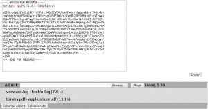 Encrypting a new message